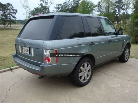 hse land rover 2006 range rover hse www imgkid com the image kid has it