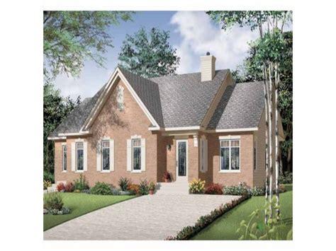 brick bungalow house plans beautiful brick duplex hwbdo67663 bungalow multi family