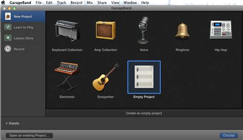 Garage Band On Mba by Yosemite Where Has My Garageband Ask Different