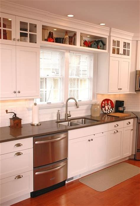 above kitchen cabinet storage stylish project spotlight renovated galley style kitchen in a
