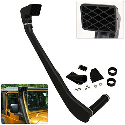 jeep snorkel underwater jeep wrangler tj yj snorkel ram air intake system black