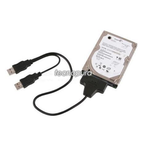 entrada sata convertidor cable adaptador sata a usb para discos duros 2