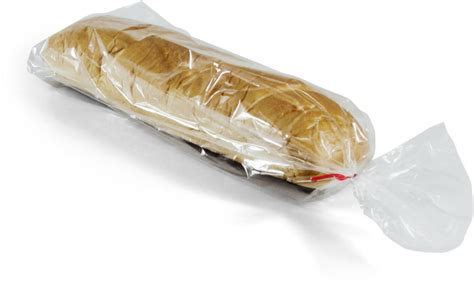1 mil plastic wicketed bread bags