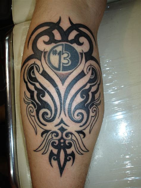 tribal tattoo calf calf tattoos designs ideas and meaning tattoos for you