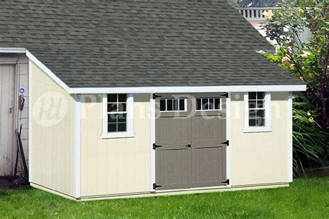 outdoor structure building storage shed plans