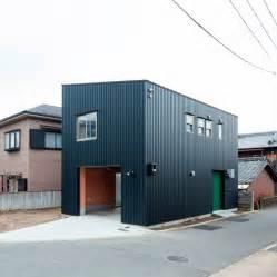 Small Japanese House Design Minimalist Box Shaped House By Yoshihiro Yamamoto Danchi