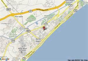 us map myrtle map of sheraton broadway plantation myrtle