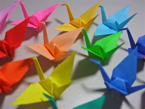 How To Make Japanese Origami - japanese origami cranes 171 embroidery origami