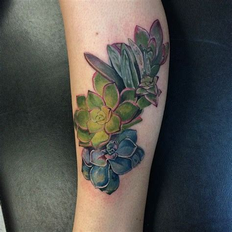 watercolor tattoo boston cactus by dia moeller at boston company boston ma