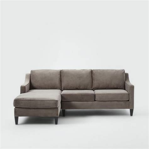 west elm chaise outdoor paidge 2 chaise sectional west elm