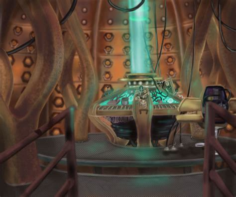 9th Doctor Tardis Interior by Tardis Interior By Kiearaphoenix On Deviantart