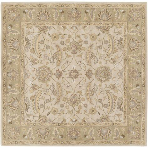 4 foot square rug artistic weavers charles beige 4 ft x 4 ft square indoor area rug s00151007048 the home depot