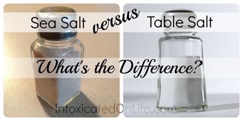 epsom salt vs table salt difference between sea salt and table review home decor
