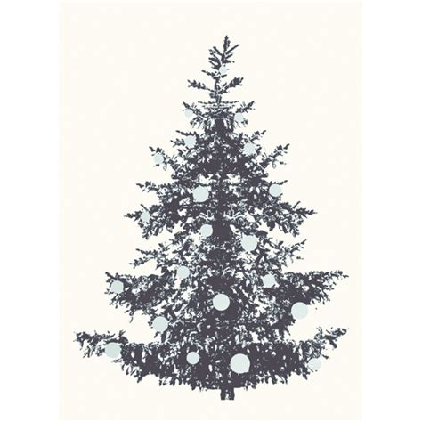 postkarte druck weihnachtsbaum sch 246 ne geschenke deko