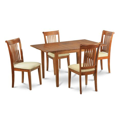 small dining room table and chairs small dinette set design homesfeed