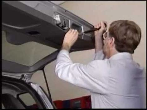 tailgate panel removal  youtube