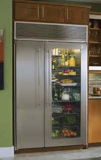 glass front refrigerator for home vignette design tuesday inspiration glass front