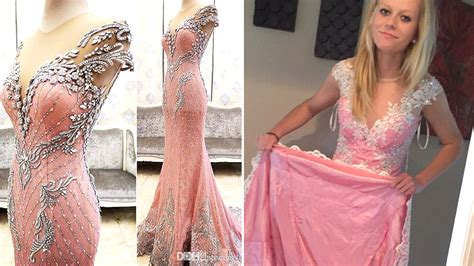 Designer Vs High Ballet Inspired Black And Pink by Scammed Buying Prom Dress Urges Other To Look