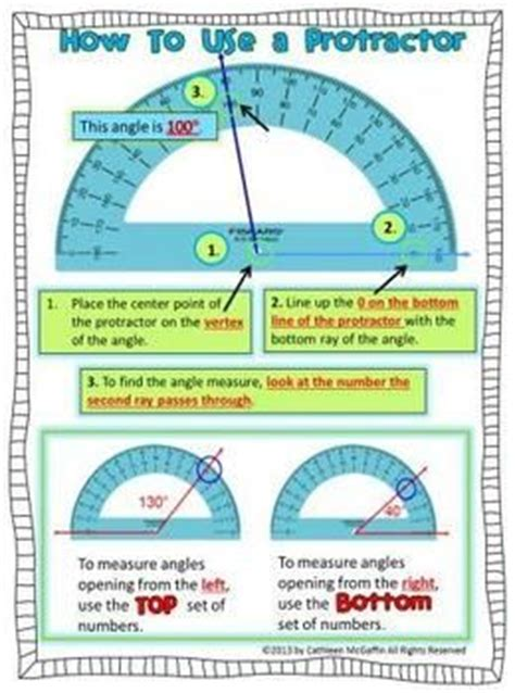 protractor printable version now that using a protractor is a common core skill for 4th