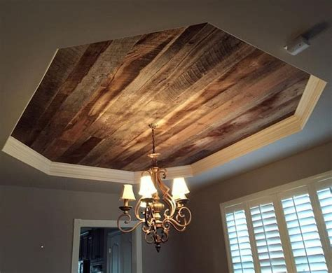 Tray Ceiling Ideas Photos Wood Ceiling Similar To What We Might Do In Dining Room