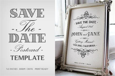 31 Elegant Wedding Invitation Templates Free Sle Exle Format Download Free Premium Save The Date Template Psd