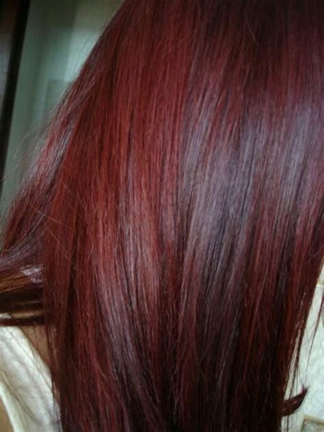 rich cherry hair colour cherry cola the rich color nywele pinterest my