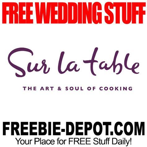 sur la table wedding registry free wedding stuff sur la table free registry gifts