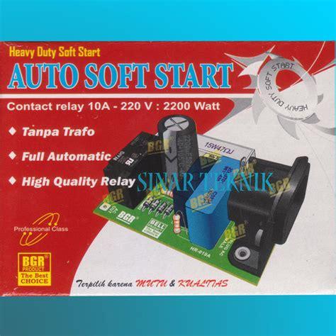 Kit Auto Soft Start Bgr jual kit soft starter penghemat listrik awal