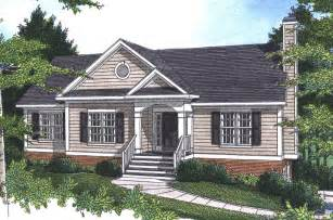 Raised House Plans by Pecan Island Raised Ranch Home Plan 052d 0002 House