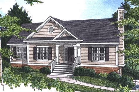Pecan Island Raised Ranch Home Plan 052d 0002 House Plans And More