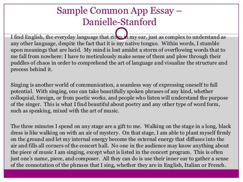 Common App Extracurricular Essay by Writing Great College Application Essays That Pop