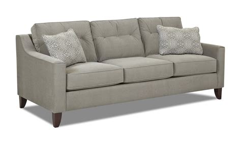 Modern Style Sofas Mid Century Modern Style Sofa With Tufted Cushions By Klaussner Wolf And Gardiner Wolf Furniture