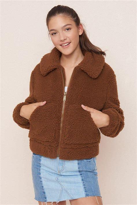 teddy sherpa jacket sherpa jacket jackets outfits