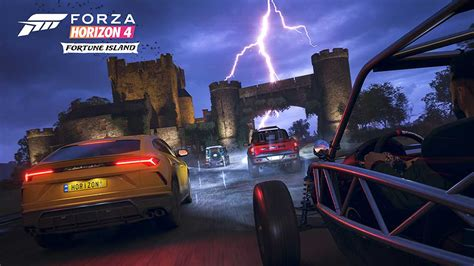 forza horizon  fortune island expansion pack coming