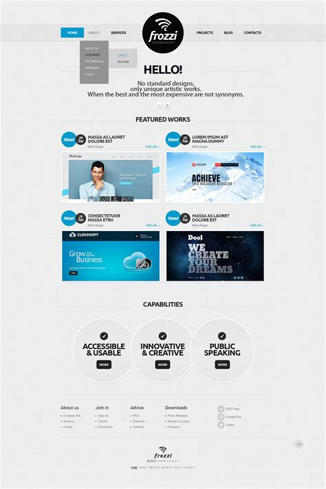 design studio joomla template 41128