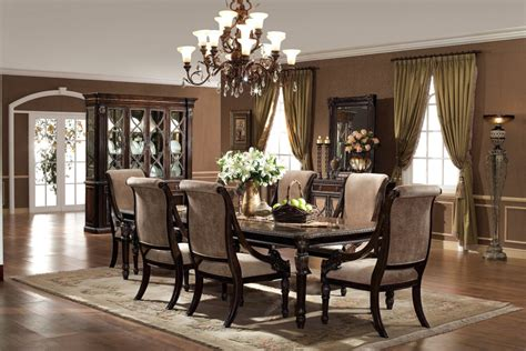 elegant dining room set dining room captivating decorative flowers on classic table for elegant formal dining room sets