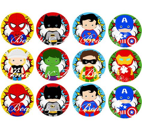 Awesome Avengers Christmas Decorations #3: The-Avengers-Stickers-Superhero-Cupcake-Toppers-Birthday-Party-Decorations-kids-Sticker-Label-for-Birthday-Baby-Shower.jpg_640x640.jpg
