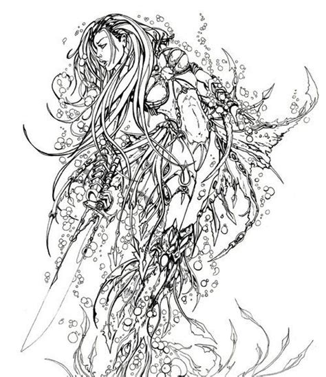 mermaids for adults coloring pages 80 best images about mermaid coloring on pinterest