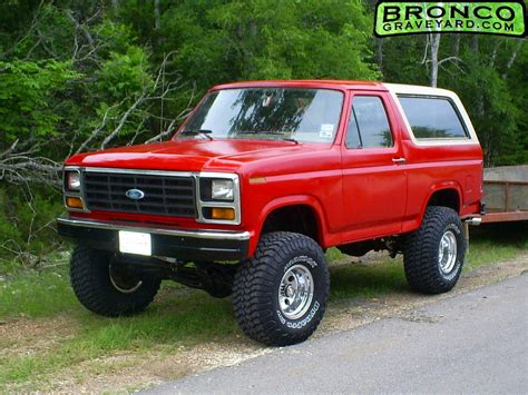how make cars 1985 ford bronco security 1985 ford bronco broncos