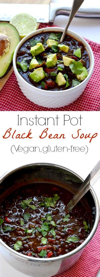 instant pot vegan cookbook the easy plant based electric pressure cooker recipes instant pot resipes books 25 best ideas about black bean soup on easy