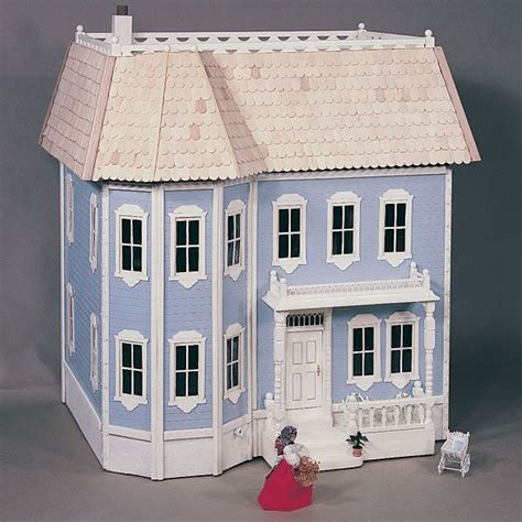 bild woodworking project paper plan  build victorian doll house plan   doll
