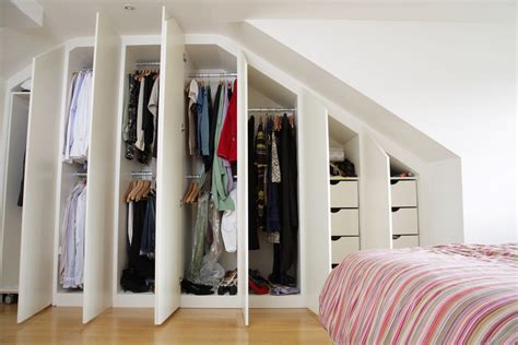 loft design clothes uk contemporary fitted wardrobes for loft bedroom joat