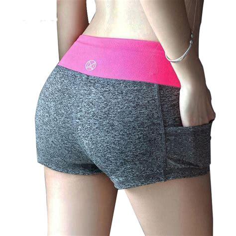 Celana Ibeauty Size L celana pendek olahraga wanita sport fitness running shorts
