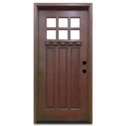 chestnut wood doors front doors the home depot