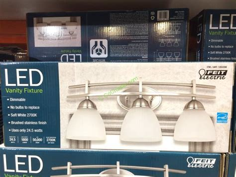 costco bathroom lighting costco led light fixture light fixtures