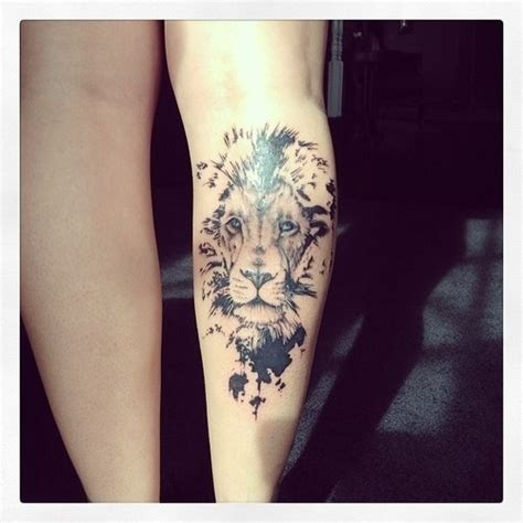leg tattoos tumblr animal ideas
