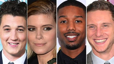 With The 4 Cast Revealed by Fantastic Four 2015 Reboot Cast Revealed Teller