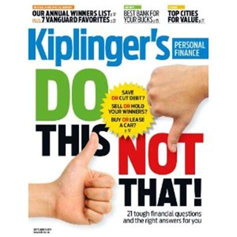 Kiplinger Finance Letter Personal Finance Kiplingers Personal Finance