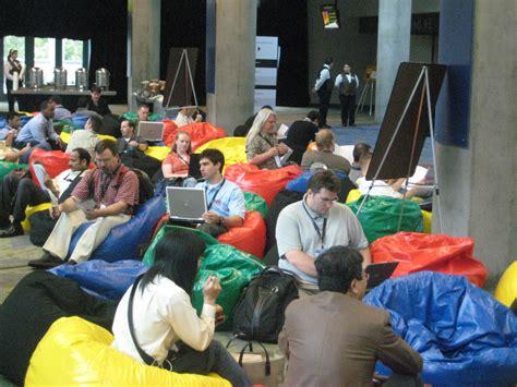 Google Dublin Office file bean bags at gdd jpg wikimedia commons