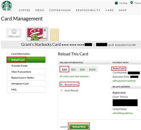 Starbucks Reload Gift Card - random news amex offers for best buy and starbucks and discover it cash back confusion